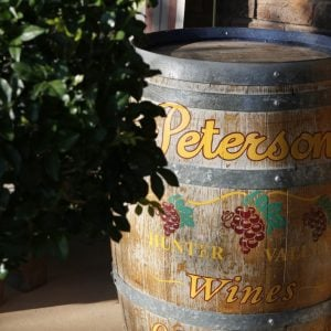 About Petersons Wines - Hunter Valley Wine Vineyard